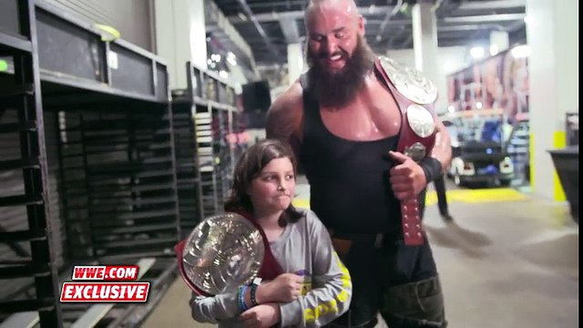 Part 14 Braun Strowman leads young Nicholas to his first WWE photo shoot Exclusive, April 8, 2018