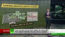 Revelado: El Pentágono pagó enormes sumas por videos falsos sobre Al Qaeda