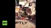 FUERTES IMÁGENES: La explosión de un coche bomba en Bagdad se cobra la vida de 12 personas (18+)