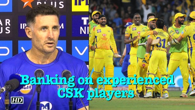 IPL-2018 | Michael Hussey banking on experienced Chennai Super Kings players