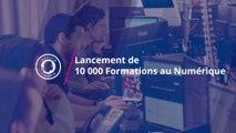 Lancement de 10 000 Formations au numérique à Roubaix
