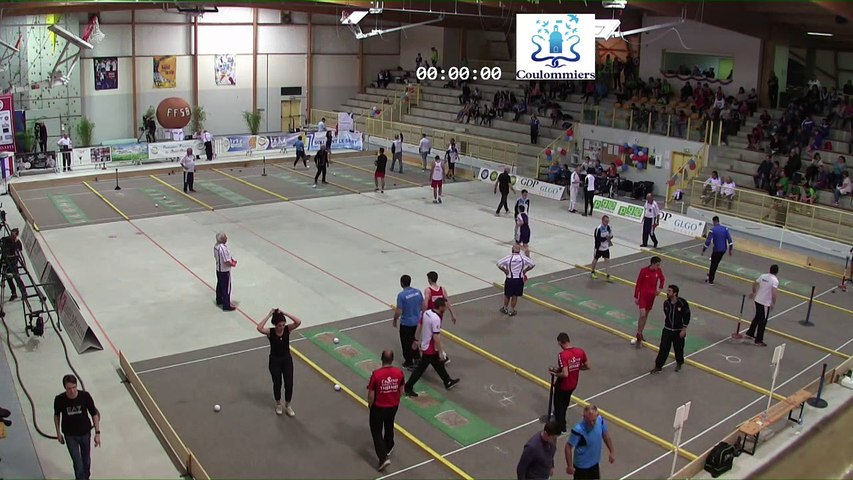 Demi-finales, tir progressif masculin, France Tirs, Coulommiers 2018