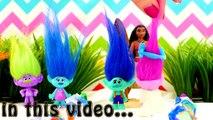 Trolls Wedding as Poppy & Branch get Married by Moana & Poppy gets Makeover & Play-Doh Dress Parody!