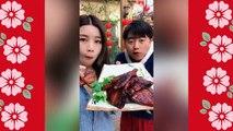MEOGBANG BJ COMPILATION-CHINESE FOOD-MUKBANG-challenge-Beauty eat strange food-asian food-NO.125