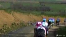 Vídeo mostra a queda mortal de Michael Goolaers durante o Paris-Roubaix
