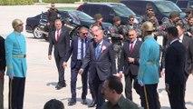 Cumhurbaşkanı Erdoğan, Emniyet Genel Müdürlüğü heyetini kabul etti - ANKARA