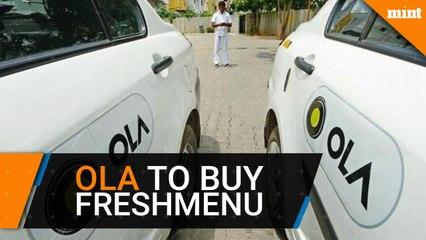 Ola in talks to buy Freshmenu after Foodpanda acquisition