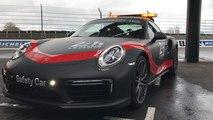 Présentation des nouvelles safety cars Porsche des 24 H du Mans