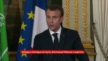 """Syrie : la France pourrait cibler """"les capacités chimiques"""" du régime, en représailles à l'attaque chimique"""