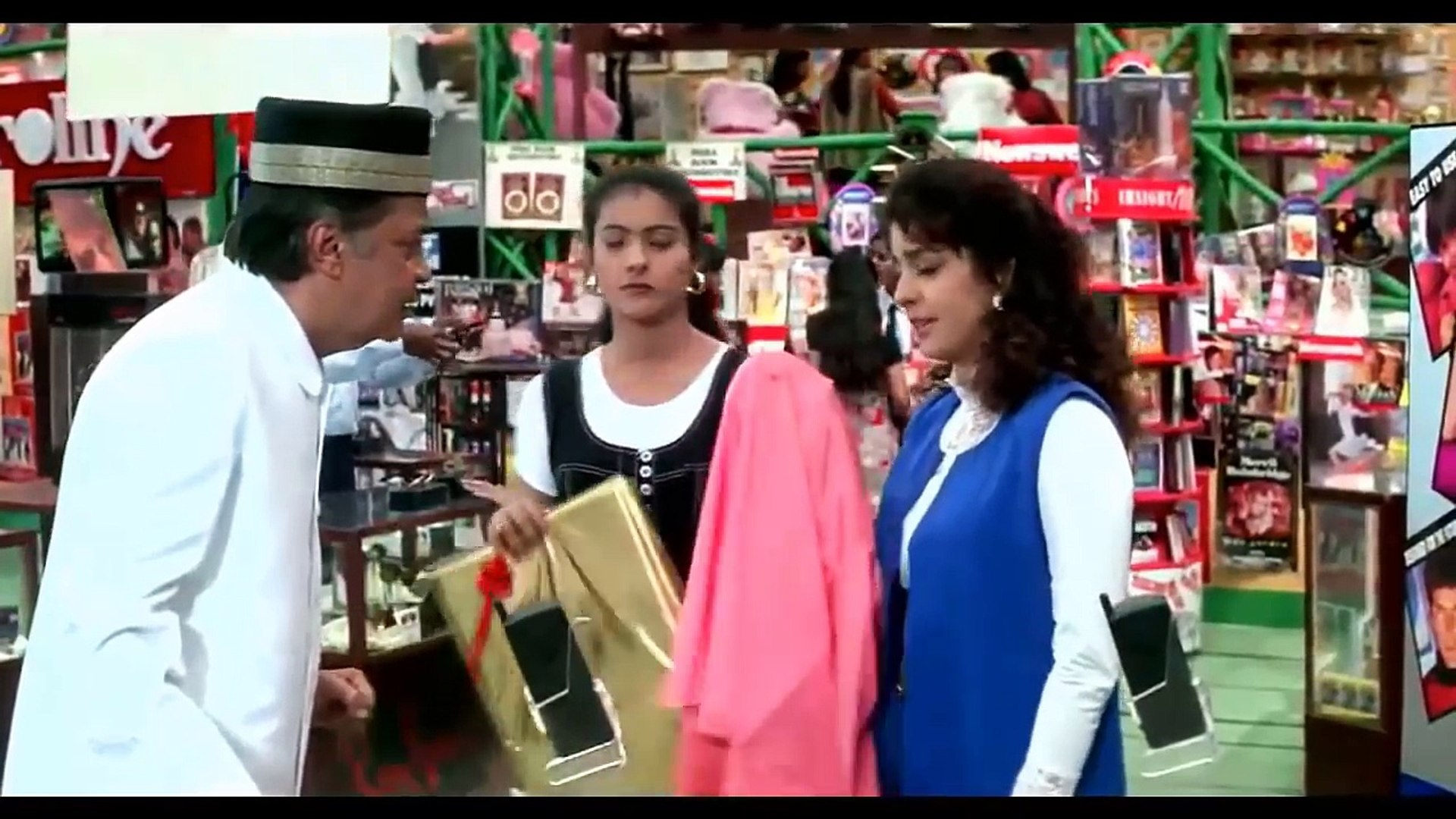 Aamir khan comedy scenes _ ishq comedy scene _ Comedy _ razzak khan comedy scenes