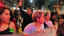 Masivas protestas por violación de una menor de 16 años en Brasil