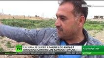 (EXCLUSIVA) Ankara ataca con artillería a los kurdos de Turquía y Siria