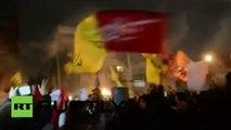 Manifestantes incendian la embajada saudita en Irán tras la ejecución de un clérigo