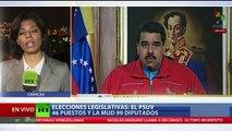 """""""Comenzó el cambio en Venezuela"""": La oposición triunfa en las elecciones parlamentarias"""