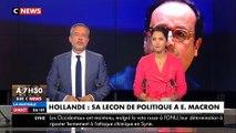 Jean-Luc Mélenchon flingue François Hollande après ses déclarations sur la politique d'Emmanuel Macron - Regardez
