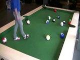 Le Foot-Billard: un nouveau sport qui va faire fureur!
