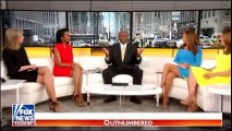 Outnumbered with Sandra Smith, Lisa Marie Boothe, Trish Regan and Harris Faulkner. 2018/04/10 @SandraSmithFox @LisaMarieBoothe @trish_regan #Outnumbered