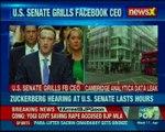 Facebook CEO Mark Zuckerberg hearing at U.S. Senate lasts hours