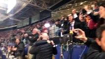 La réaction géniale des journalistes après la victoire de la Roma contre le Barça
