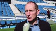 Avant HAC - Soyaux (D1) en Coupe de France interview de Thierry Uvenard