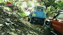 9 trucks mudding! Trail finder 2 hilux Axial wraith scx10 Sand Scorcher Defender RC Adventures