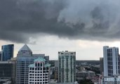 Wild, Stormy Weather Sweeps Across Fort Lauderdale