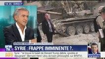 """Syrie: """"Lutter contre l'islamisme radical, c'était aussi de lutter contre Bashar al-Assad"""", affirme Bernard Henri-Lévy"""