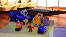 Little Heroes to the Rescue|Little Heroes Kid Police & Fire Truck Toys | Police Car Cartoon for Kid