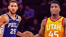 Donovan Mitchell TROLLS Ben Simmons with EPIC Hoodie. Simmons Responds