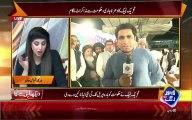 Molvi Khadim Rizvi & Workers Got Angry On Journalist's Question