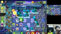 plants vs zombies level 2 -4 using cheat engine and scaredy