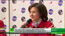 Conozca las 6 mujeres rusas que 'viajarán a la Luna'