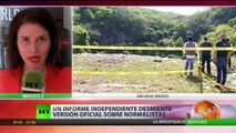 Expertos independientes rechazan teoría del Gobierno de México sobre los 43 normalistas