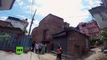 Primeras imágenes del nuevo terremoto en Nepal