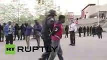 Disturbios en Baltimore: Gases lacrimógenos, saqueos, enfrentamientos, incendios y heridos
