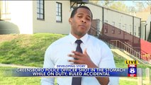 North Carolina Police Officer Accidentally Shot with Service Weapon