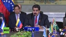 """Maduro propone a EE.UU. """"entablar relaciones de respeto y de amistad"""""""
