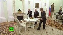 Empieza la reunión de Putin, Merkel y Hollande sobre la crisis en Ucrania