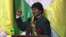 """""""Sin EE.UU. estamos mejor en la lucha contra el narcotráfico"""" - Evo Morales"""