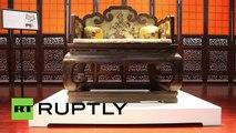 Trono de un emperador chino a subasta por 5,6 millones de dólares