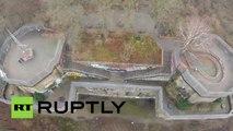 Imágenes únicas: Dron de Ruptly sobrevuela la torre de Hitler
