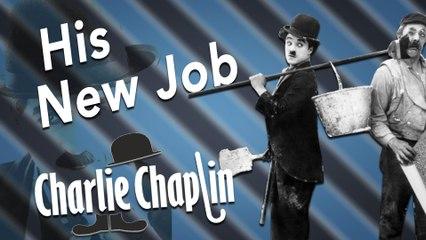 Chaplin's  His New Job (1915) USA