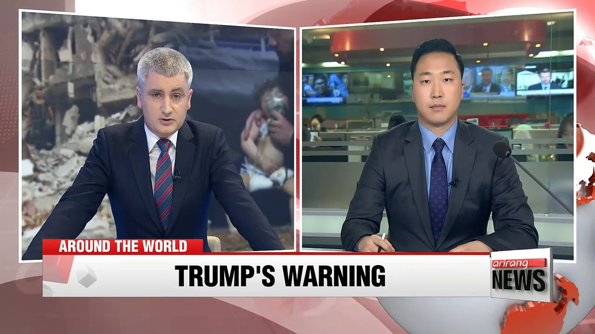 Trump warns Russia to