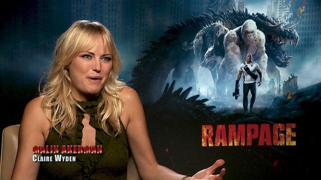 Rampage - Exclusive Interview With Brad Peyton & Malin Akerman