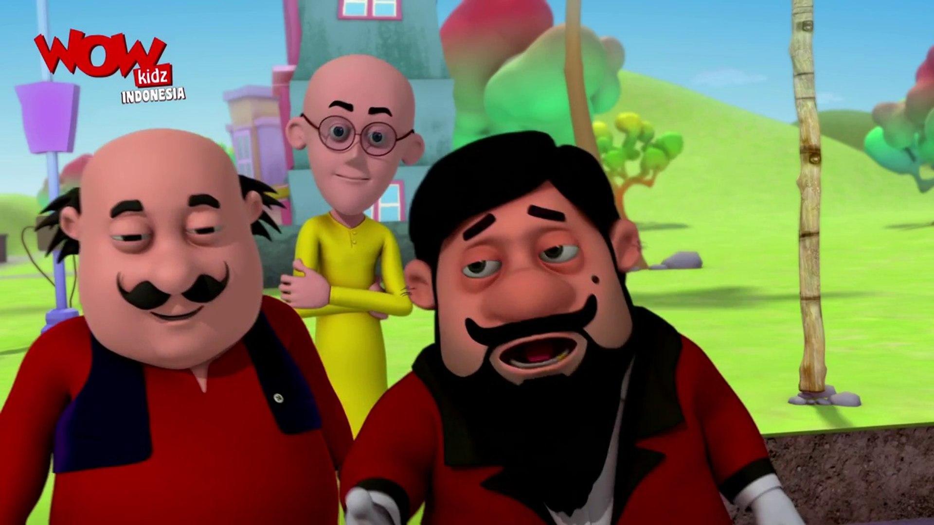 John Si Pemain Sirkus - Motu Patlu dalam - Animasi 3D Kartun - WowKidz Indonesia