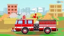 Voitures-jouets : Véhicule des pompiers, Ambulance, Voiture de police, Dépanneuse, Voiture