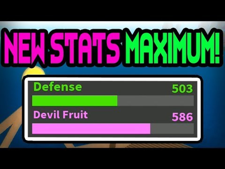 NEW* MAX STATS | One Piece Bizarre Adventures | ROBLOX