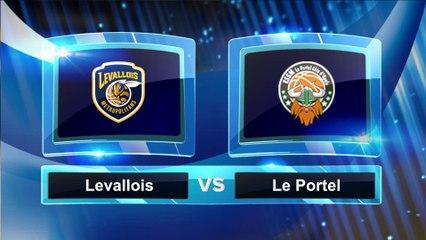 Avant match avec Ivan Fevrier, Levallois Metropolitans - ESSM Le Portel
