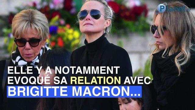Laeticia Hallyday révèle comment Brigitte Macron est devenue son amie