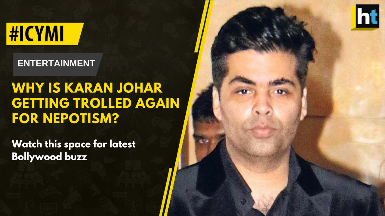 #ICYMI: Why is Karan Johar being trolled again for nepotism?